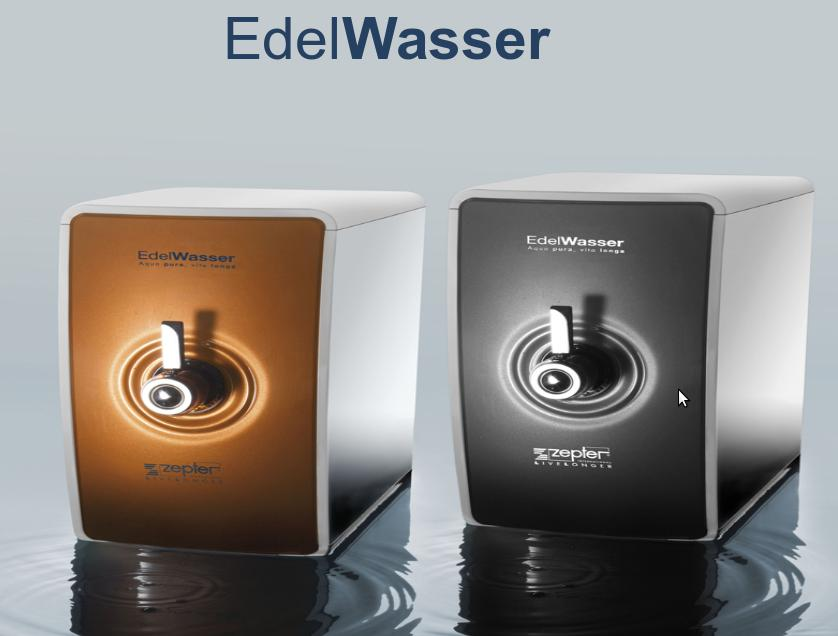 EDEL WASSER BLACK lub ORANGE